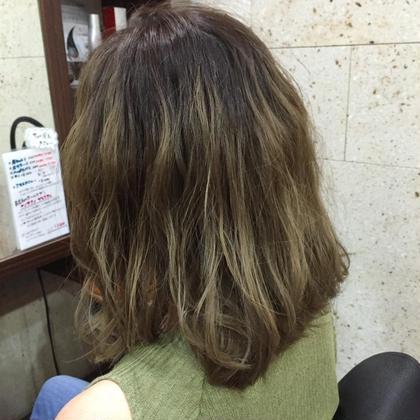 外人風グラデーション hair&make breatth所属・佐藤択哉のスタイル