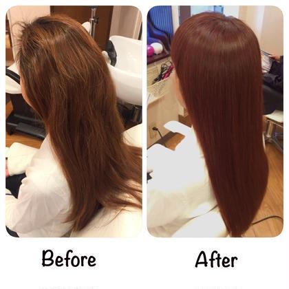髪質改善ヘアカラーカットコース