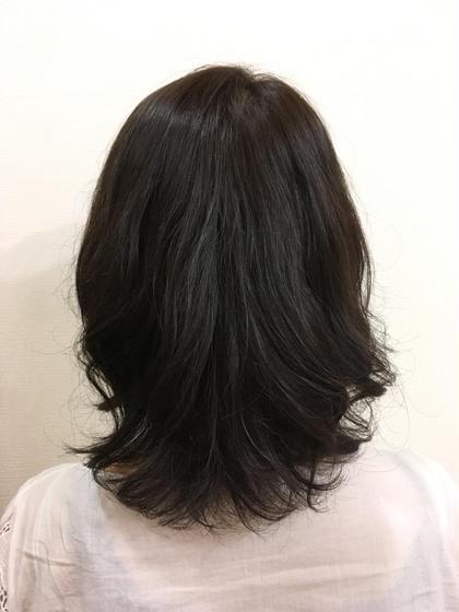 マットアッシュ hair frais make所属・梅宮那月のスタイル