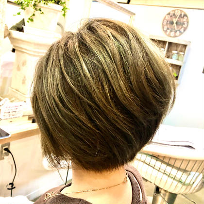 平日15時以降限定✨デザインカラー+トリートメント【SUBLIMIC 5step】+前髪カット