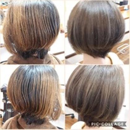 シークレットハイライトで3D外国人風カラー Hair freety所属・松本 楓のスタイル