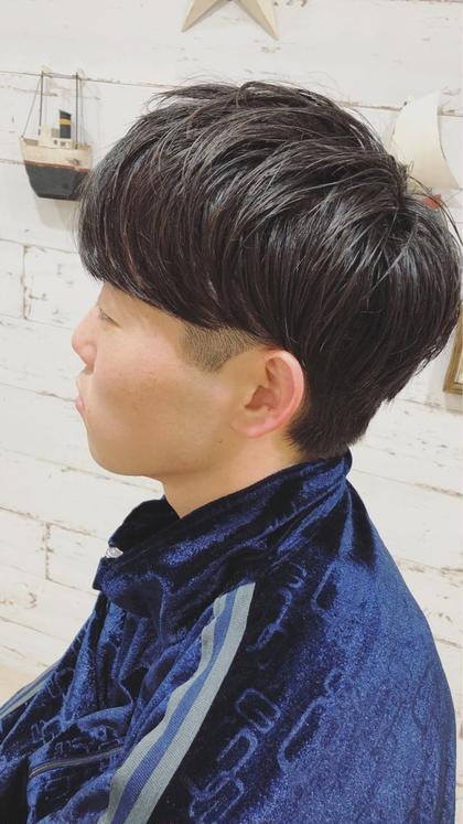 密本桃子のメンズヘアスタイル・髪型
