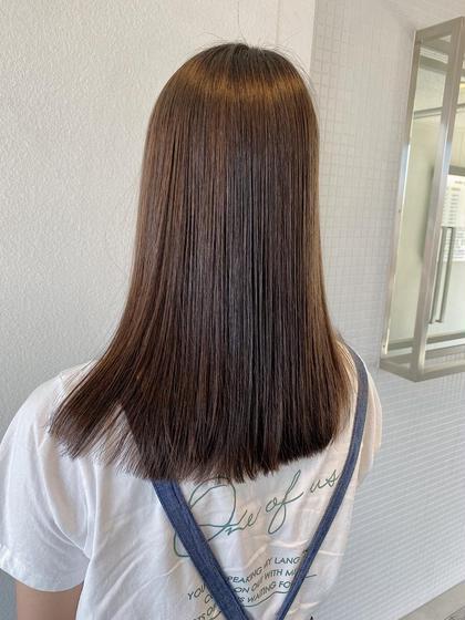 質感調整 日本人の地毛にはカラーが必要!?◆カット+カラー+トリートメント(ロング料金込)