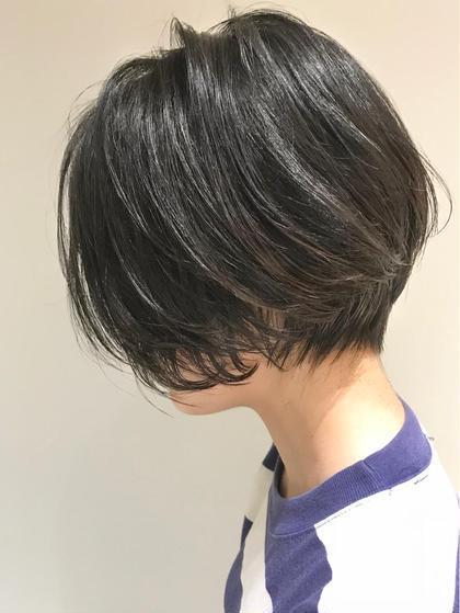 リップラインショート 関口裕樹のショートのヘアスタイル
