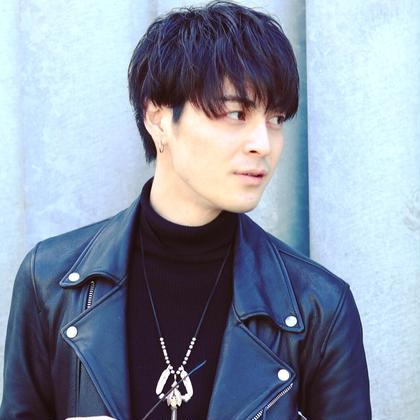 大人気❗️ マッシュウルフ✨ anthem 表参道所属・トップスタイリスト細川勇輝のスタイル