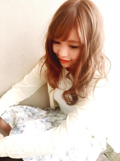 明るすぎない上品なラベンダーアッシュです! 夏にもピッタリです♪( ´▽`) hair design BEER所属・中川葉璃香のスタイル