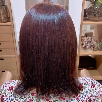 11トーンの髪を8トーンのピンク系に! 色味を重視ということで深めのピンクを入れました! 8トーンが1番色味が出るのでオススメです! Pacificdazzle神戸三ノ宮店所属・谷口祐綺のスタイル
