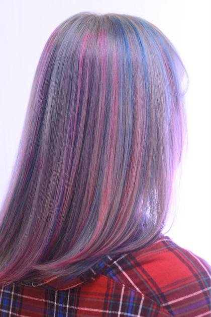 派手髪カラー