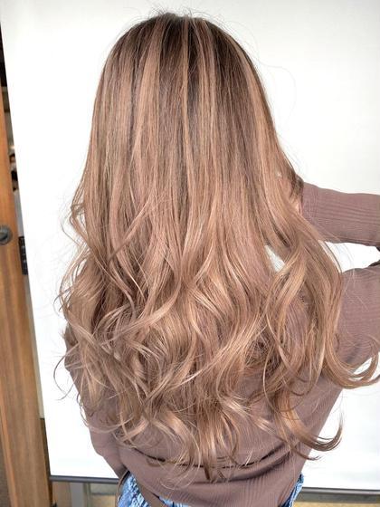🌈カラーメニューで大人気😍✨ブリーチなしのこだわりカラー+GMミルボン髪質改善トリートメント💫😍