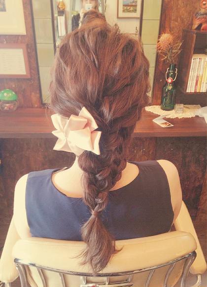 back style ⁂ chouette HairMake&HeadDress所属・サダハルカのスタイル