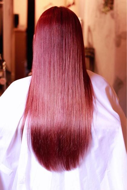 その他 カラー ロング ヒカリノアプリエ  sweet red