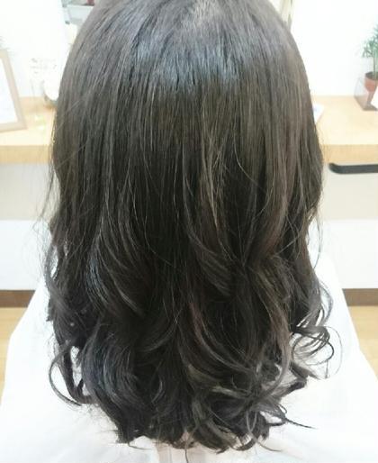 アッシュブラウン♡ hair&make POSH所属・梶谷実里のスタイル