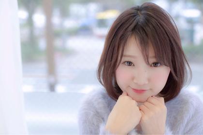 柔らかショートボブ☆ RECIEL多治見店所属・美容師✖︎毛髪診断士水野靖己のスタイル