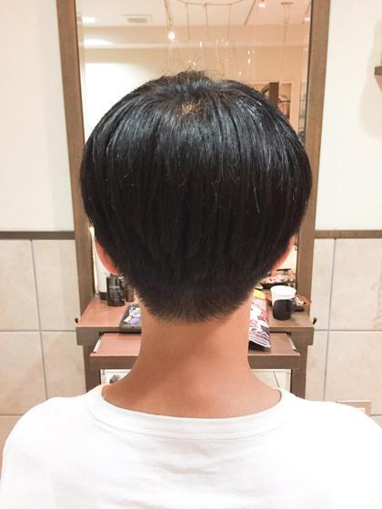 🍊お悩み解消No.1 MENSカット+縮毛矯正✨