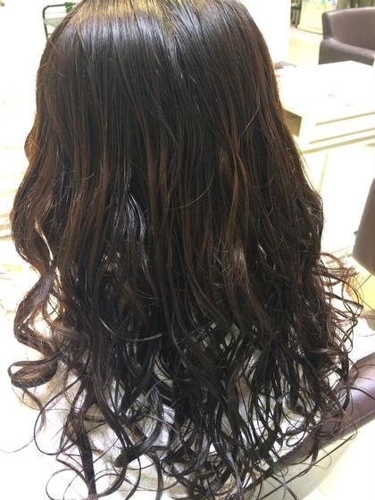 季節的にもオススメデジタルパーマ☆  乾いた状態でもカール 出やすいのでお手入れが簡単です!! Hair&Nail Lee西宮店所属・大津加貴則のスタイル