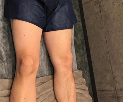 MENS★美肌脱毛★足全体【足の付け根から指/甲まで全体】