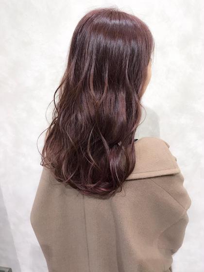【ピンクラベンダーカラー】  ピンクとラベンダーをMixした美髪カラー♪  ✔︎つや感のあるピンク系カラーにしたい方 ✔︎髪質がキレイに見える髪色にしたい方 ✔︎美肌に見える髪色にしたい方  などにオススメです🙆♂️   インスタグラムで、その他スタイル更新してます。 気に入ったスタイルは保存しておいてもらうと カウンセリングがスムーズです☆  instagram→@hayatoniwa