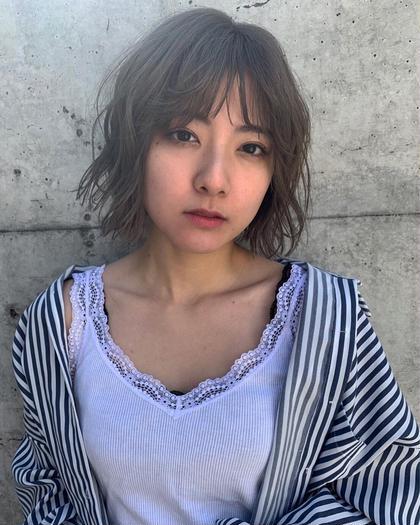 ❤️ミニモ初回限定クーポン❤️外国人風カラー+前髪カット+3ステップトリートメント✨