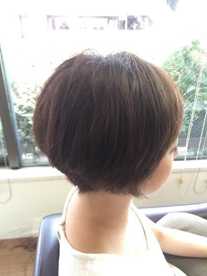 ショート大得意です\(^o^)/ hair an floren所属・みつはしかずきのスタイル