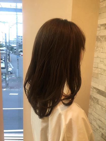 ☆アッシュネイビー☆ perfume所属・ryosanのスタイル