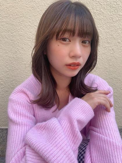 🌈『平日限定』カット+艶・高発色カラー