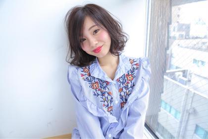 【4月限定!】【ミニモ春きゅん】✨カット&透明感カラー&トリートメント✨
