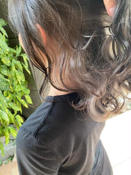 💫秘密のイヤリング💫イヤリングカラー+卵殻膜トリートメント