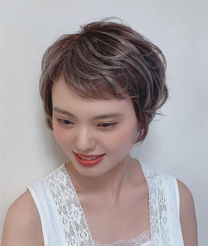 ブリーチ×グレージュ P-brands hair kasuga refrain所属・國武 桜のスタイル