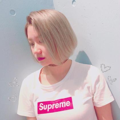 blond color ♡ ZEST所属・matsubaraminaのスタイル