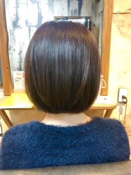 前髪カット&髪質改善❣️最高級ケラスターゼ❣️