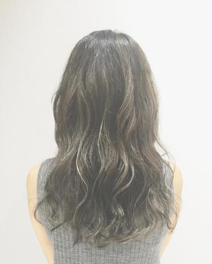 ハイライトたっぷりダークグレージュ✨ Hair&Make EARTH 長久手店所属・古畑佑悟のスタイル