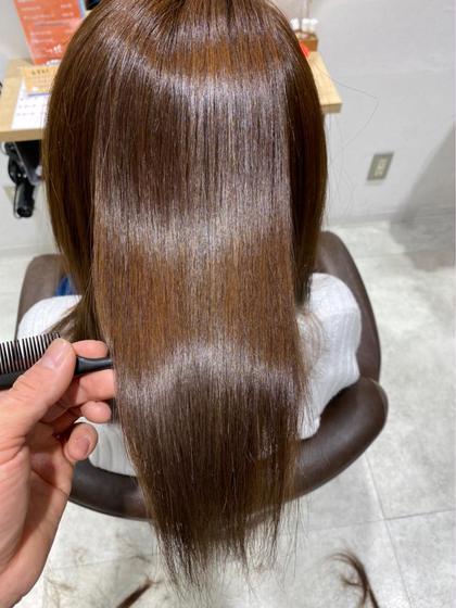 【髪質に合わせて!】髪質改善酸熱トリートメント+選べる3stepトリートメント💎【ベーシックコース】