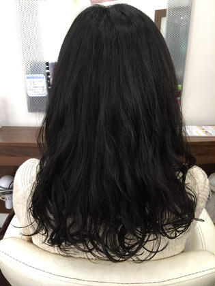 クリープパーマで、ゆるふわ無造作に⭐️ desire 下高井戸店所属・佐藤さやかのスタイル
