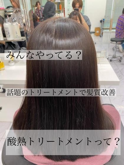 【人気トリートメント大特価】✨やればやるほど効果あり✨💓話題の毛髪改善トリートメント&カット&カラー💓