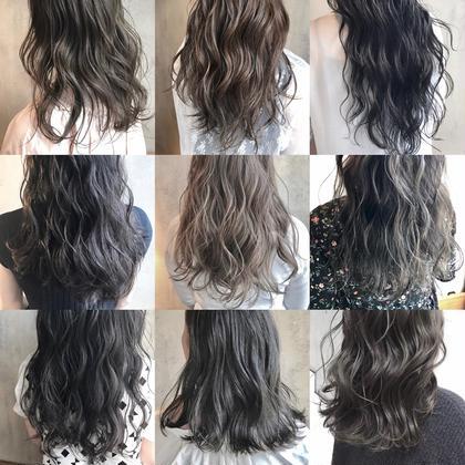 アンドウナオユキのロングのヘアスタイル