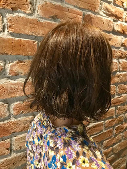 ダメージレスの酸性パーマ +ダメージレスRカラー ヴァーチューセカンド所属・nomuramaiのスタイル