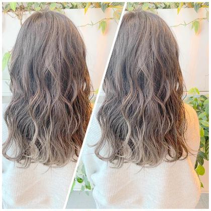 #アオハル【SNSで大人気透明感カラー】💐オリジナルヘアカラー+髪質に合わせて選べるトリートメント+似合わせ前髪cut
