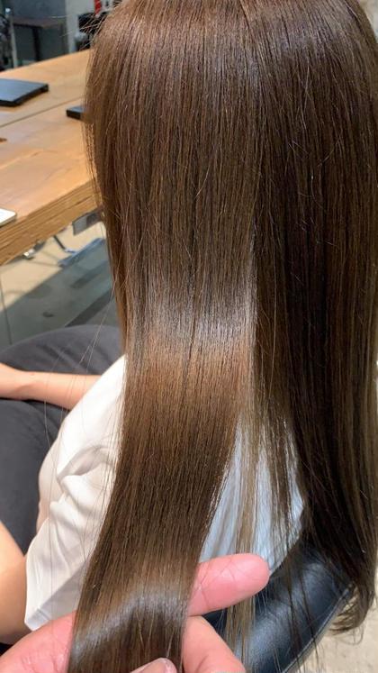 ✨プレミアムフルコース✨カット+髪質改善縮毛矯正+イルミナカラー+TOKIOトリートメント✨