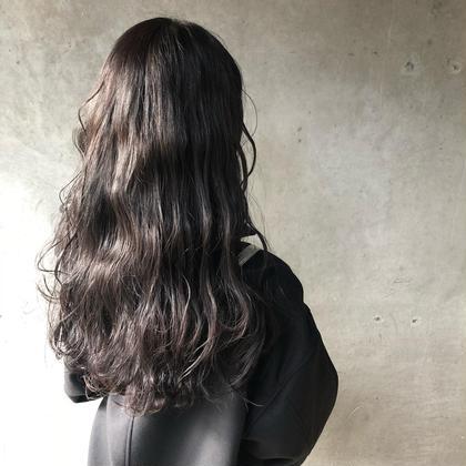 💙【人気No.2】💙✨透明感抜群!!✨⛄️冬髪チェンジ⛄️似合わせ艶カラー+艶トリートメント