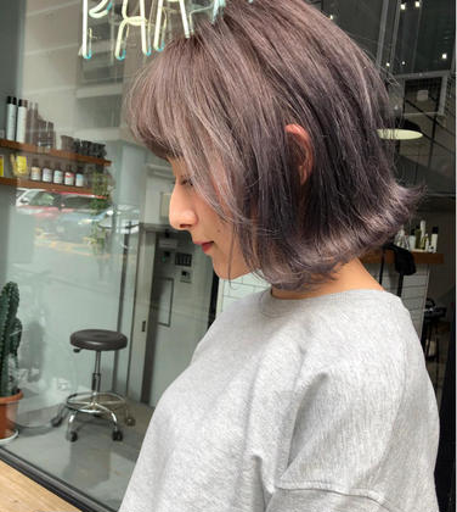 新規【平日限定】カット & 透明カラー & トリートメント