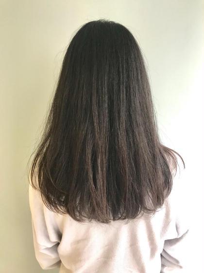 ナチュラル🍁 中江綾香のセミロングのヘアスタイル