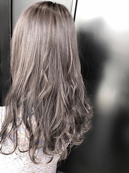 ケアブリーチ!外国人風ダブルカラー+髪質改善フローディアトリートメント