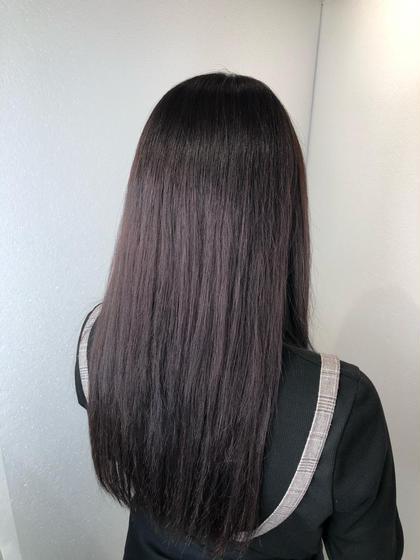[女性限定]カット+カラー(ハイライト・グラデーション・インナー・ポイント)モデル4400円