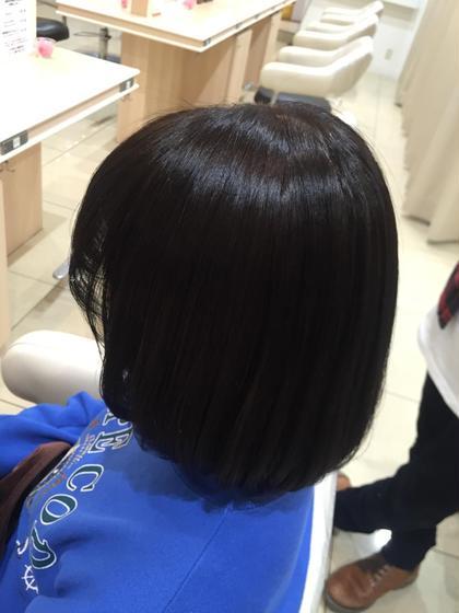 ハイトーンの明るい髪から、冬に向けて落ち着いた色に✨  Ash瀬谷店所属・シマブクロアユミのスタイル