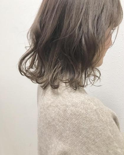 前髪カット✙カラー