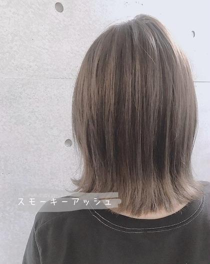 ❤️人気No.1❤️メンテナンスカット+イルミナorアディクシーカラー+トリートメント ¥6690