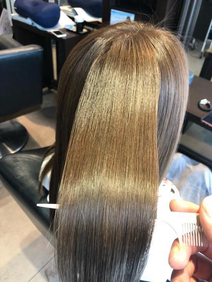 【人気No.1】髪質改善トリートメント✨美髪チャージサイエンスアクア&ヘアリセッター✂️&超音波アイロン&ナノスチーム✨