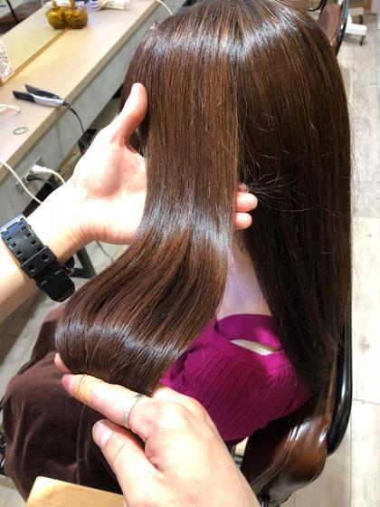 【圧倒的ツヤ髪へ✨】透明感ヘアカラー × 髪質改善✂️オーダーメイドトリートメント