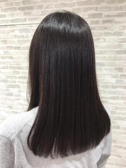 圧倒的なツヤ髪に♬