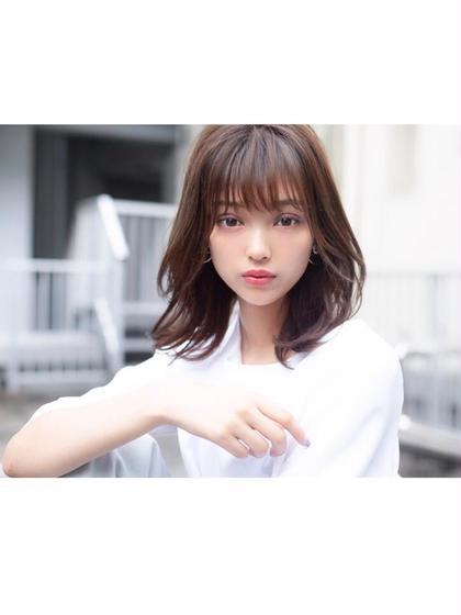 ♡Cut color treatment [毎回OK] 韓国カラーならこれ!イルミナ艶カラー☆